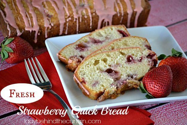 Fresh Strawberry Quick Bread | Recipe