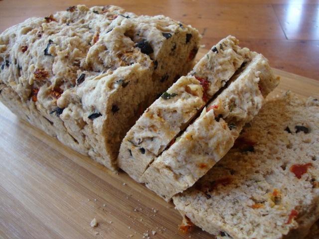 Mediterranean Olive Bread | vegan food & health | Pinterest