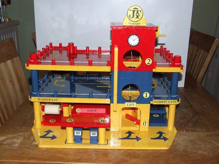 Build Wooden Toy Garage Amish built 14×24 wood garage garden shed ...