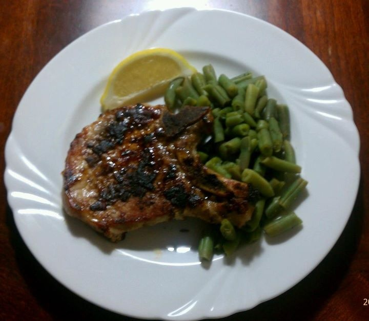 Rubbed Pork Chops (Phase 1) 4 Servings Description Cinnamon, coriander ...