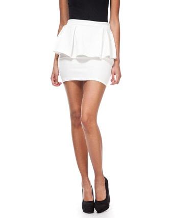 Club L Peplum Skirt