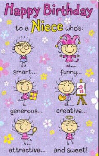 Happy Birthday Niece Image ~ Happy birtthday to my beautiful niece birthday pinterest