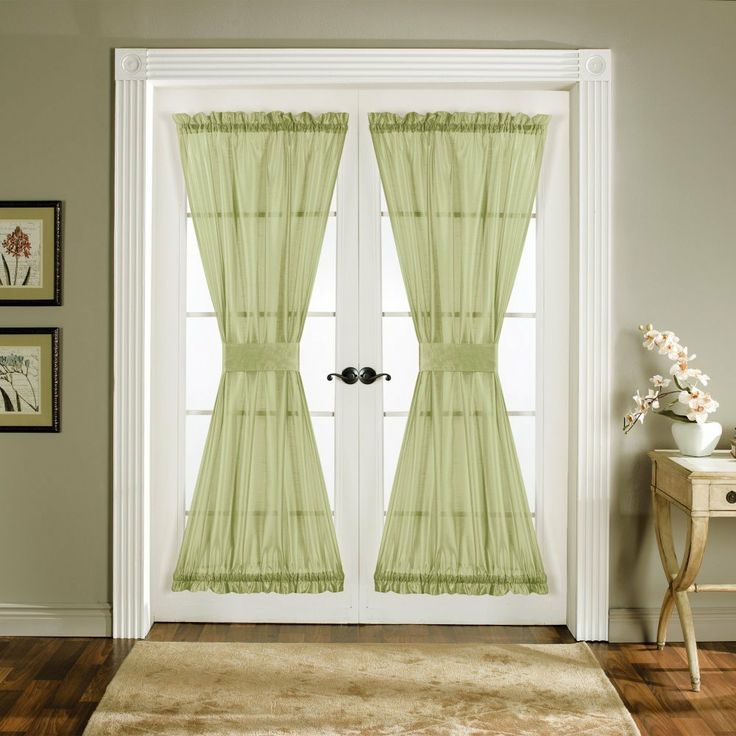 Curtains for french doors new home decorating ideas for French door decorating ideas