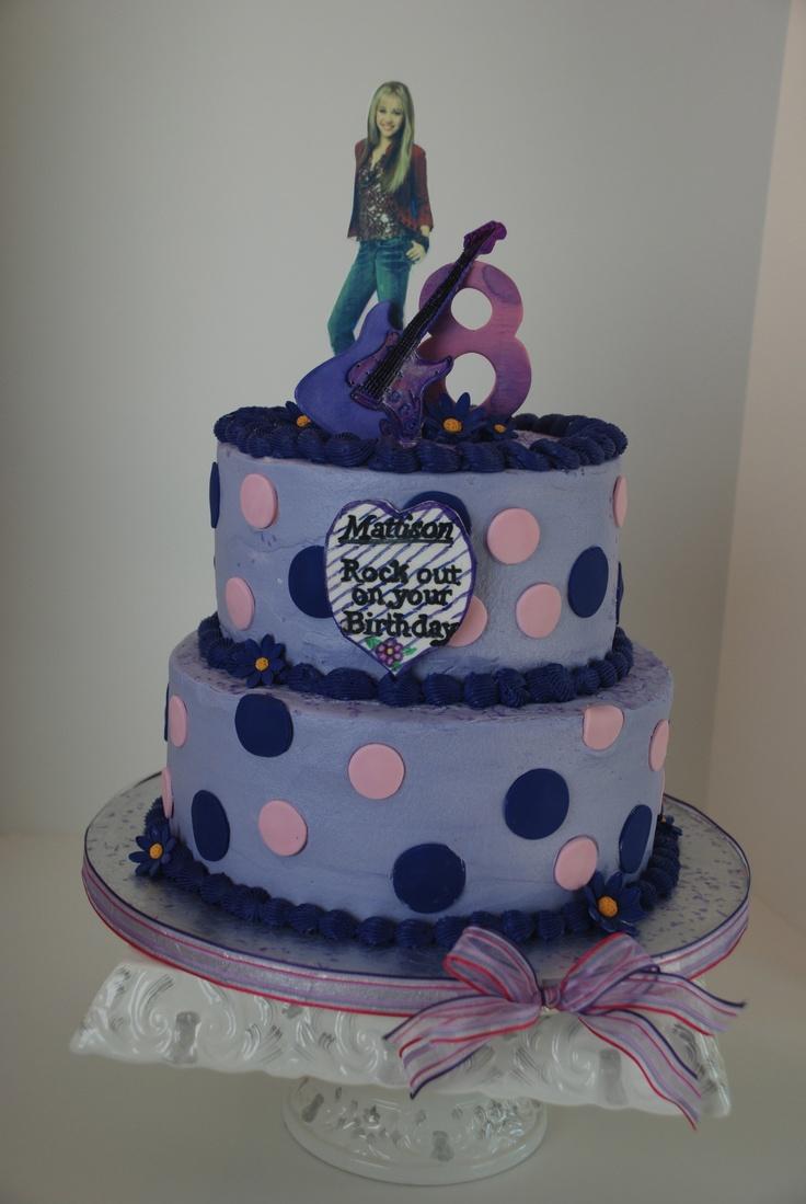 Hannah montana cake.