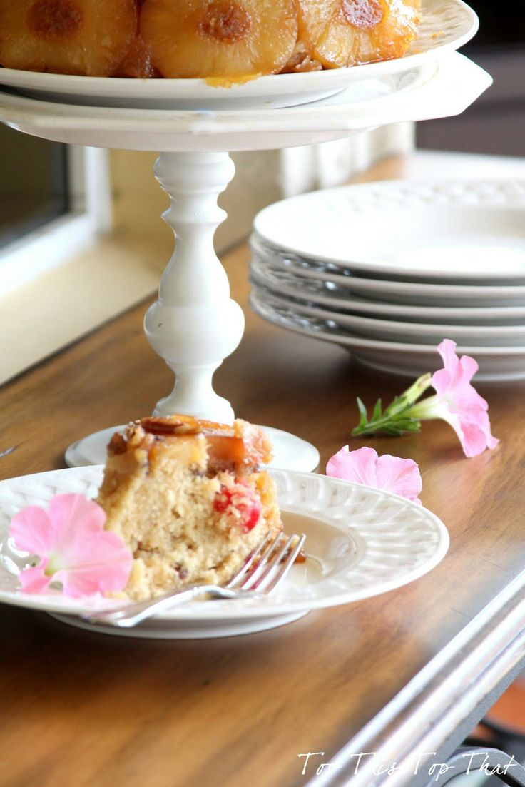 Cast Iron Skillet Pineapple Upside Down Cake - Top This Top That ...