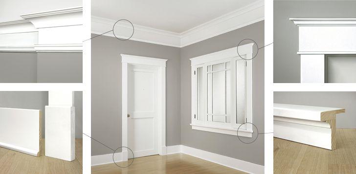 Craftsman window trim ideas for Mission style trim molding