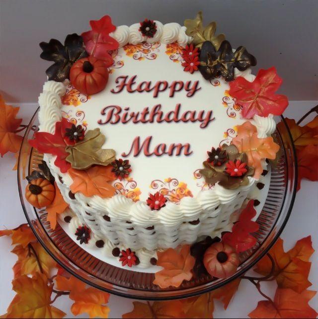 Fall basketweave birthday cake cake ideas pinterest for Autumn cake decoration