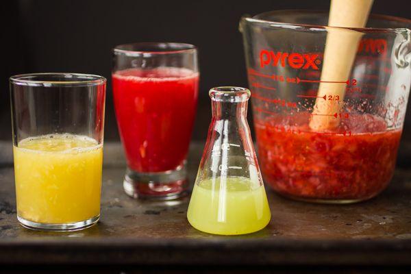 Strawberry Blood Orange Rum Punch | Drinks / Alcohol | Pinterest