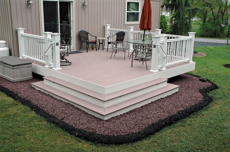 No railing decks google search for the home pinterest
