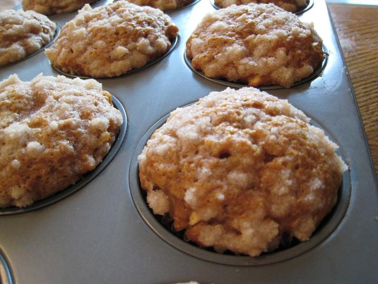 pumpkin apple streusel muffins recept yummly pumpkin apple streusel ...