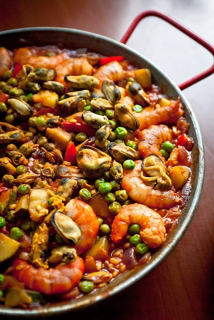 Seafood paella | Culinary Creations and Inspiration | Pinterest