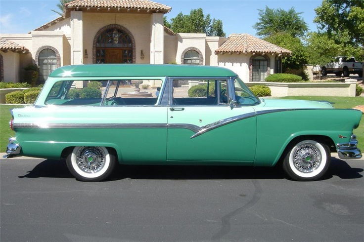 1956 ford parklane station wagon 1956 fords and other for 1956 ford 2 door wagon