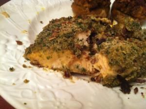 Alaska Salmon Bake with Pecan Crunch Coating - another great recipe on ...