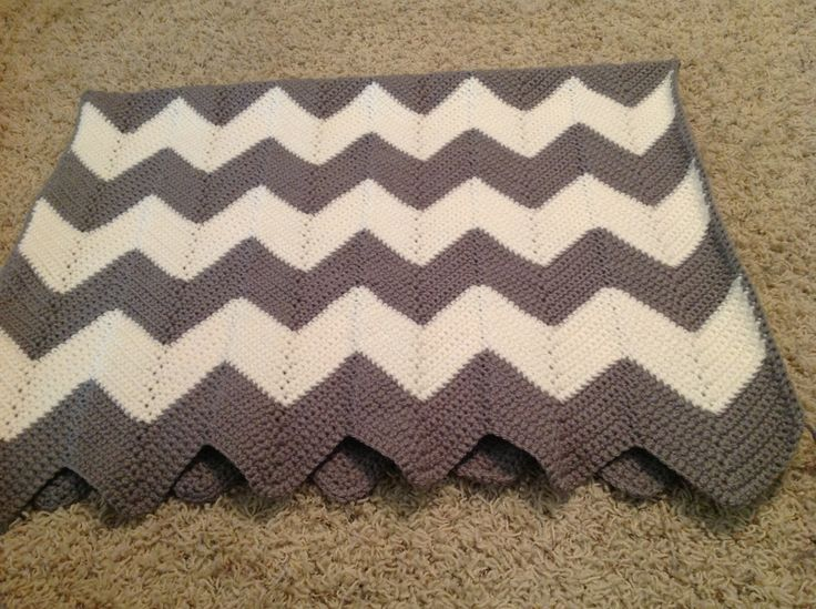 Crochet Stitches Chevron : Crochet chevron Crochet patterns & Ideas Pinterest