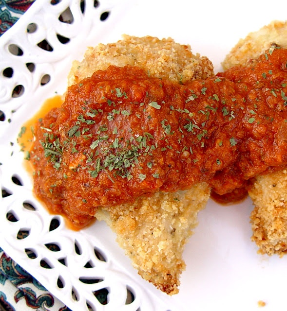 Crispy Parmesan and Garlic Chicken | Food for Thought | Pinterest