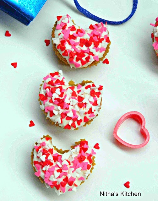 valentine's day eggless recipes
