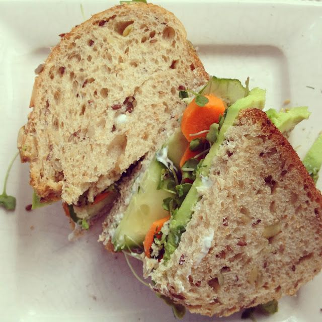 designer bags and dirty diapers: The Best Veggie Sandwich Ever