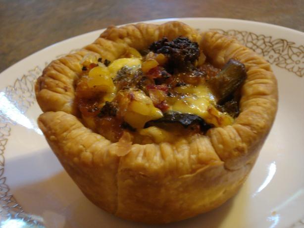 Roast Vegetable and Feta Tarts | Recipe