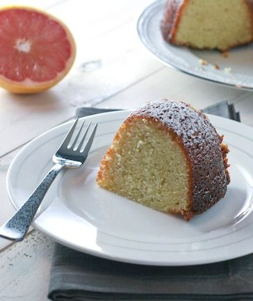 Grapefruit Yogurt Cake - FoodBabbles.com