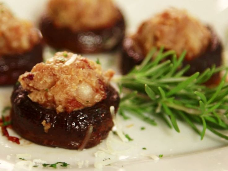 Stuffed Mushrooms from FoodNetwork.com These are the best stuffed ...