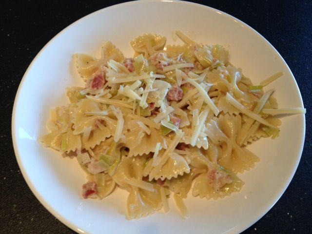 Pasta with Pancetta and Leeks | A P - Pasta - Pork (Ham/Italian Sau…
