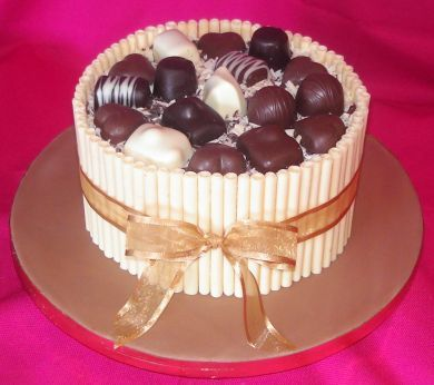 Extreme Chocolate Cake | Chocolate B'day Cake | Pinterest