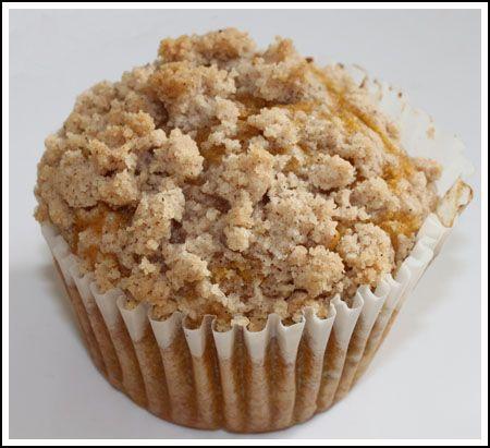 Jumbo Pumpkin Streusel Muffins | Sweet Sweets | Pinterest