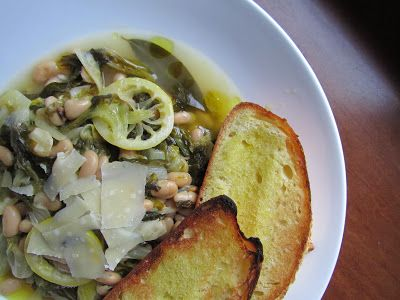 Braised Escarole & Beans   www.theroastedroot.net