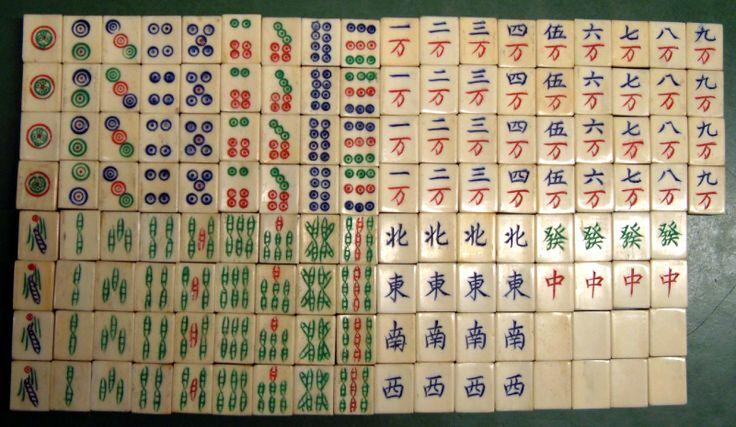 game matching tiles chinese