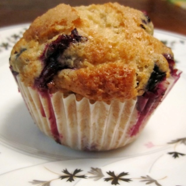 Low Fat Banana Blueberry Muffins 17