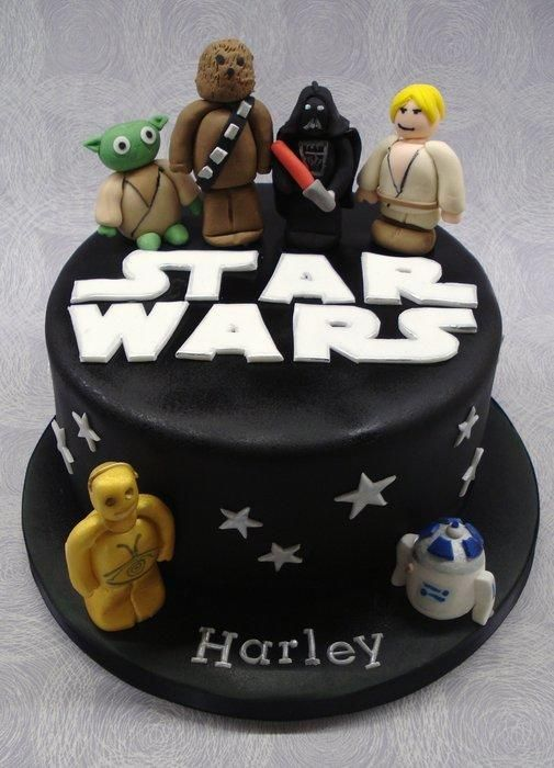 how to make a easy star wars cake