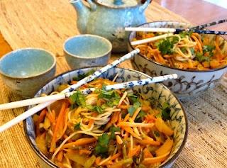 Ginger Sesame Noodles | Bon appetit! | Pinterest