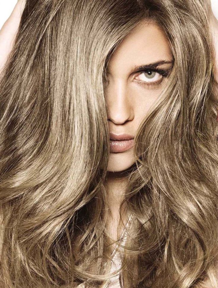 love the cool metallic tones to this brown shade.   Hair Color ...