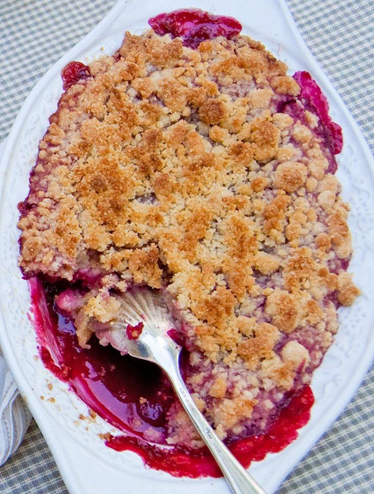 Fresh Raspberry Cobbler | Just Desserts | Pinterest