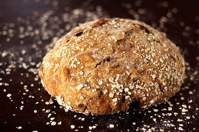 Walnut and Tart Cherry No-Knead Bread | Foodgasm/Food Porn? | Pintere ...