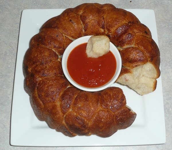 Pepperoni Pizza Monkey Bread | Entertaining and Recipes! | Pinterest