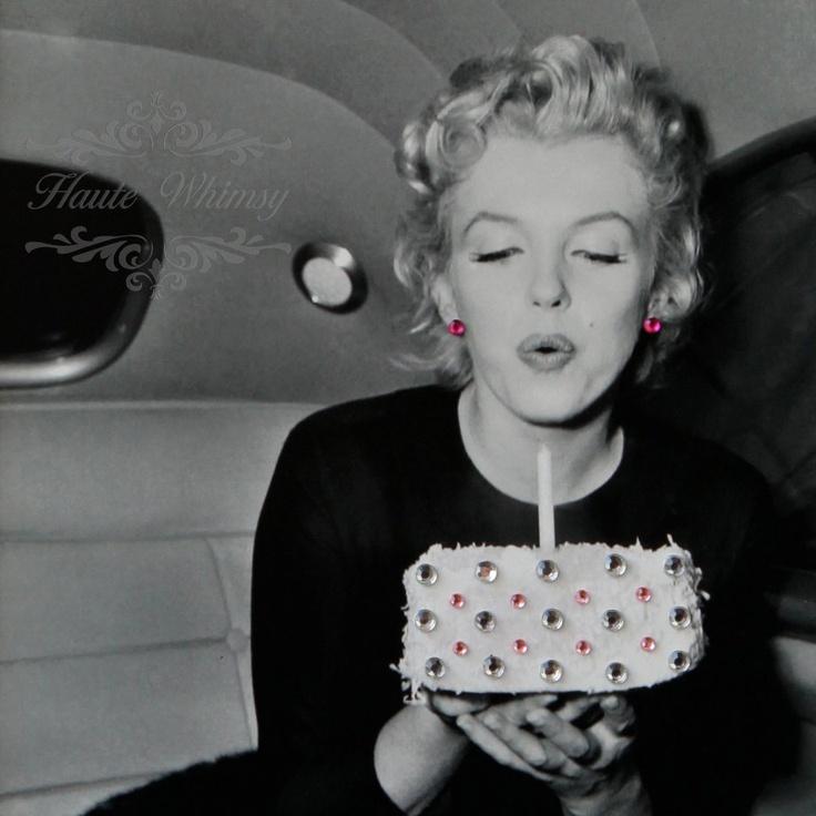 Поздравление с днем рождения мерлин монро