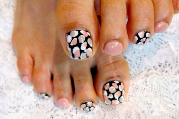 Pedicure Nail Art Designs for Fall | Fix me up | Pinterest