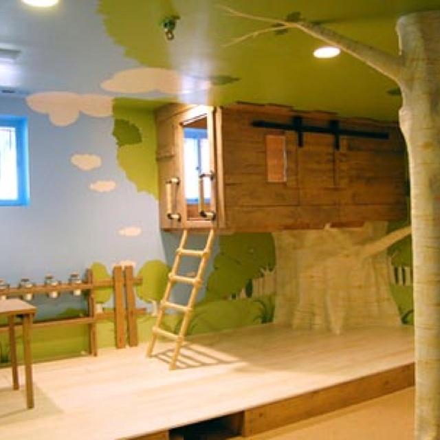 treehouse bed bedroom pinterest