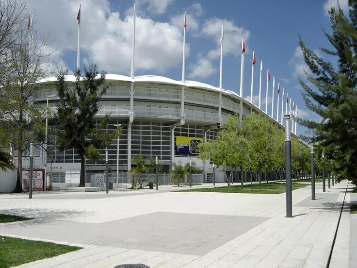 Construcciones incre bles hechas en m x 3 estadios arenas for Puerta 9b estadio universitario