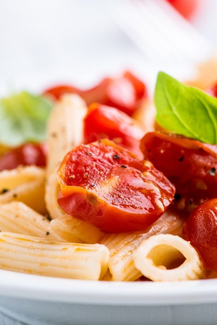 Penne with Mascarpone Cheese and Roasted Cherry Tomatoes #Recipe # ...