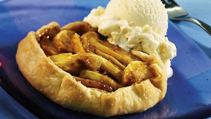 Enjoy this toffee apple tartlet recipe baked using Pillsbury ...