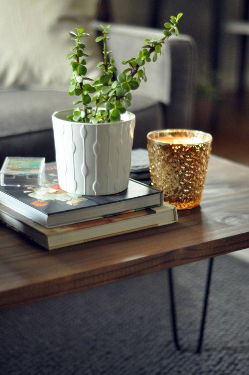 DIY Hairpin Leg Coffee Table | A humble abode. | Pinterest