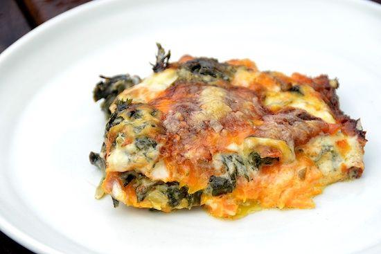 Swiss Chard and Sweet Potato Gratin | Recipe Box-Vegetarian | Pintere ...
