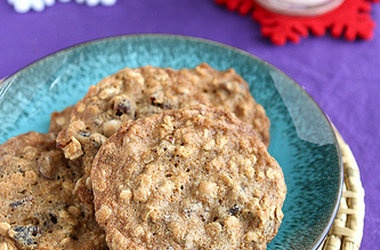 Chocolate Dried Cherry Oatmeal Cookie | cookies | Pinterest