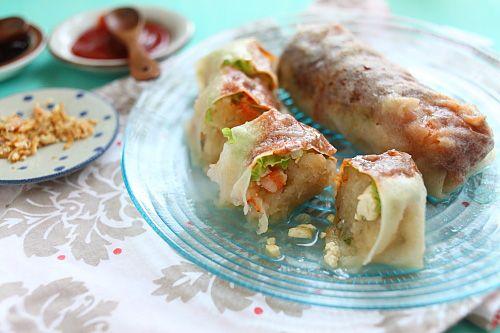 Popiah (Fresh Spring Rolls) | asian food | Pinterest