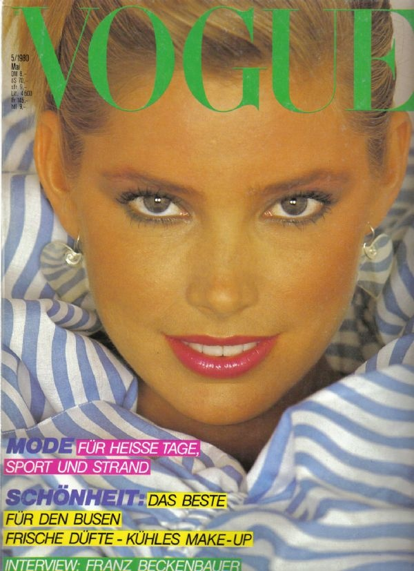 Kelly Emberg 1980 Vogue