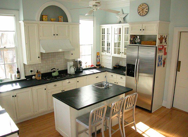 Green Mountain Soapstone Kitchen Island Kitchen Ideas Pinterest