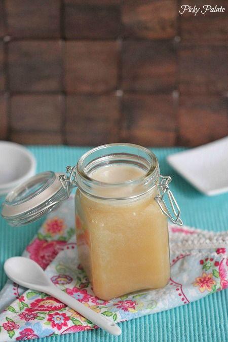 Caramel Eggnog Syrup 1 Put it on pancakes. Yum!