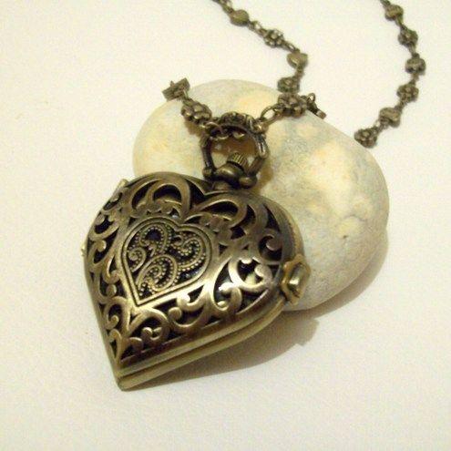 pin vintage heart locket and key tattoo on pinterest. Black Bedroom Furniture Sets. Home Design Ideas